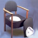 Devon Commode Chair