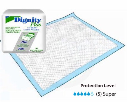 Disposable Sheet And Linen Protector For Incontinence