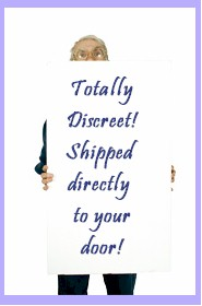 Discreet Shopping Directly to your Door
